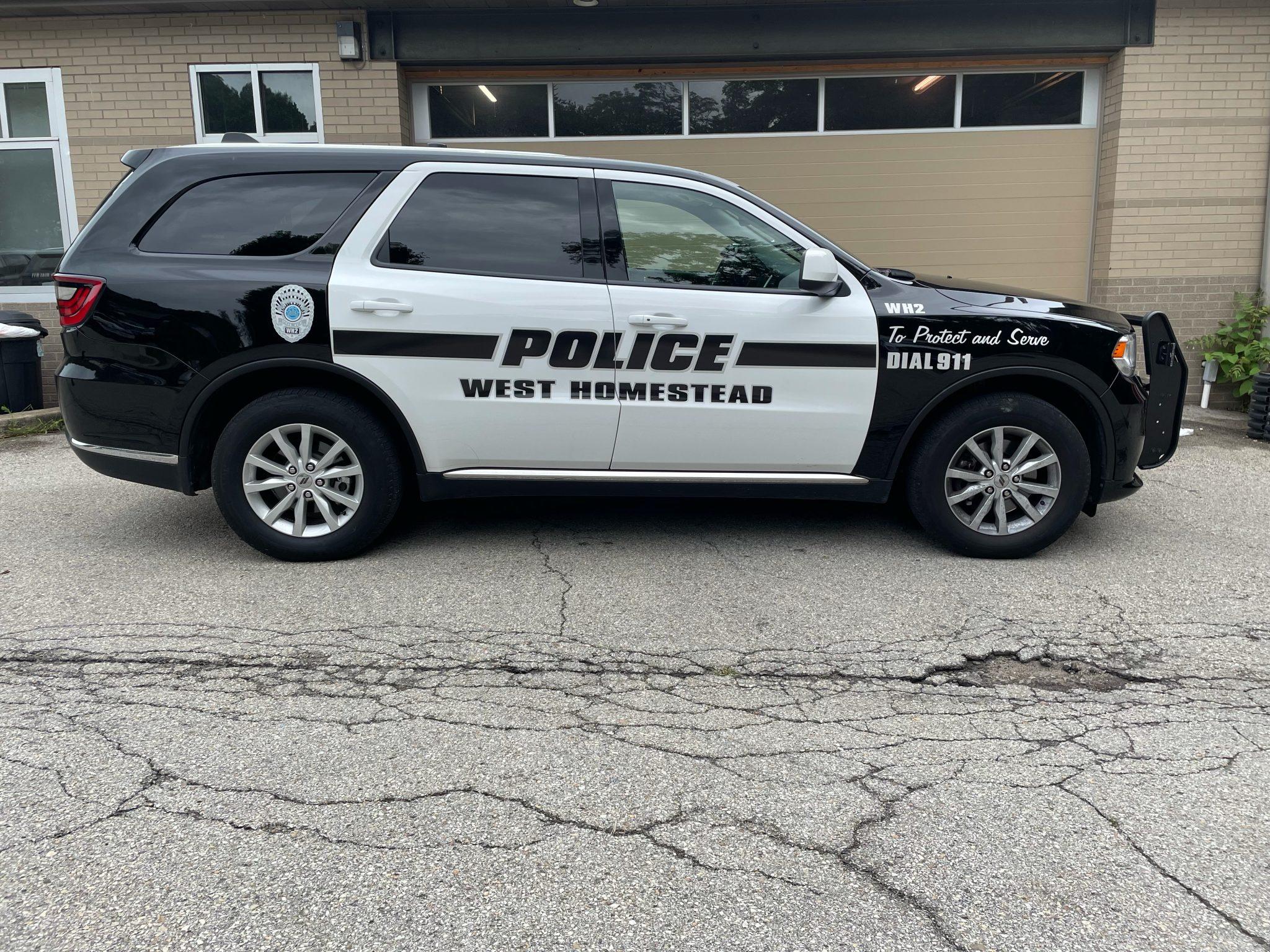 West Homestead Police Vehicle